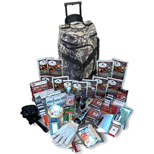 Wise Foods Deluxe Camo Survival Backpack