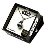 Officiel en argent Sterling 925 Star Wars BB-8 Lead 3D pendentif avec chaîne