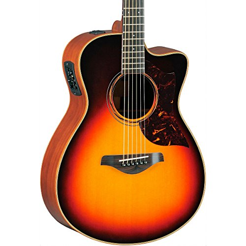 Yamaha A-Series All Solid Wood Concert Acoustic-Electric Guitar with SRT Preamp/Pickup Vintage Sunburst