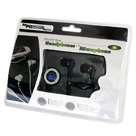 PSP Headset Kit for Skype BLACK (In-ear Earphone)