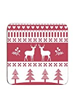 Premier Housewares Set Posavasos 4 Uds. Winter Wonderland