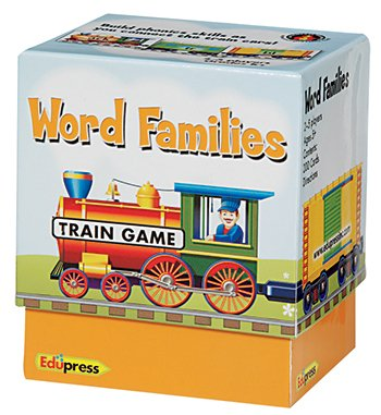 Edupress Word Families Phonics Train Game - 1