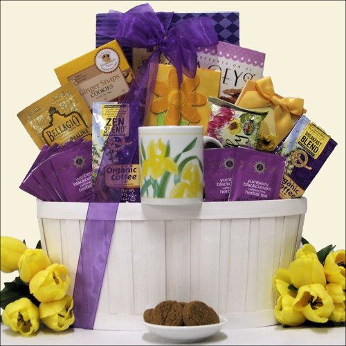 Zen Blend: Gourmet Coffee & Tea Gift Basket