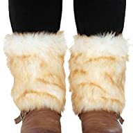 Simplicity Women's Soft Furry Boot Cu…