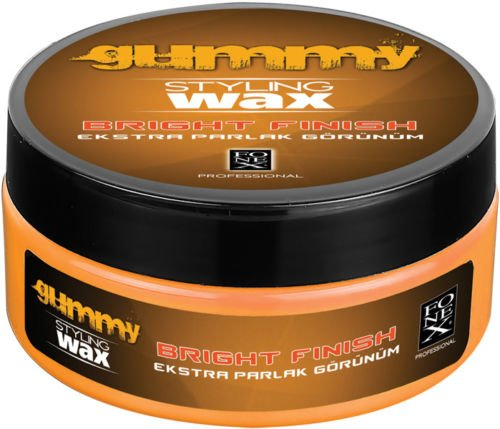 gummy-hair-styling-wax-bright-finish-melon-scent-pomade-water-based-150ml