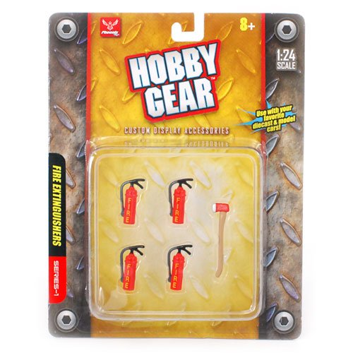 """Hobby Gear"" Fire Extinguishers Series-1"