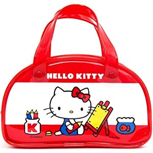 cute red mini Hello Kitty handbag Boston Bag