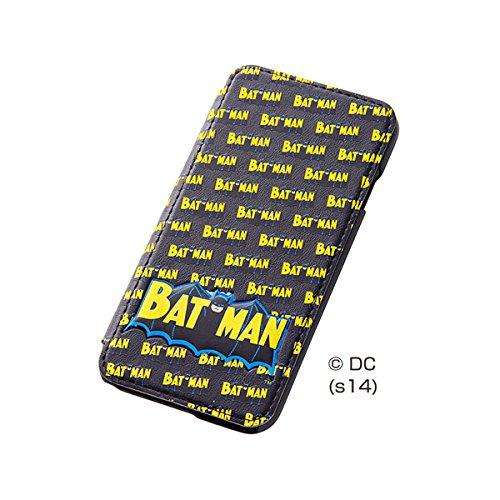 レイ・アウト iPhone6 (4.7インチ)用 ワーナー・ブラザーズ ポップアップ・フラップタイプ・レザージャケット バットマン RT-WP7C/BM