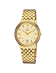 Grovana Men's Champagne Face Yellow Goldtone Watch 1708.1111