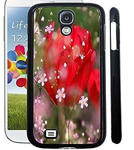 ColourCraft Love Flowers Design Back Case Cover for SAMSUNG GALAXY S4 I9500 / I9505