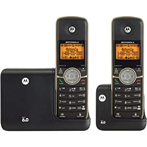 Motorola L512BT - cordless phone - answering system ...