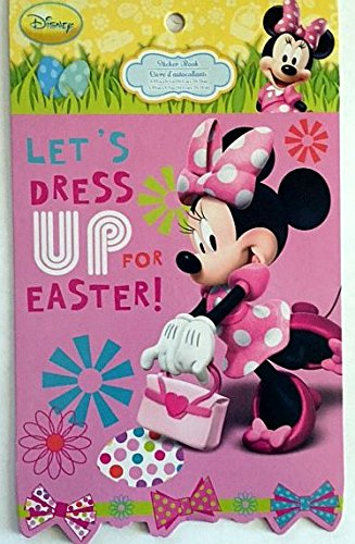 Minnie Mouse Let's Dress Up for Easter Hello Spring Stickers - 5 Sheets - 1