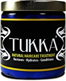 TUKKA Natural Hair Care Treatment for Dry Curly & Kinky Hair. Ultimate Hair Cream, Prevents Breakage & Hair Loss 8.5-Ounces, 100% Natural Ingredients. Deals