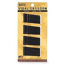 Vidal Sassoon Bobby Pins Black 60 Count