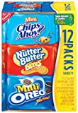 Nabisco Mini Variety Pack, 12-Ounce Boxes (Pack of 4)
