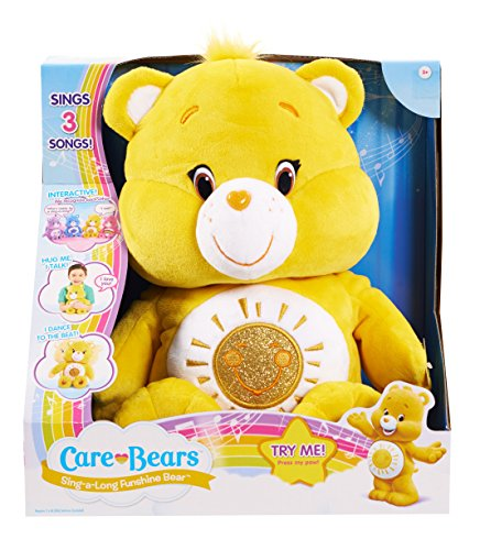 Care Bears Funshine Sing-a-Long Bear Plush (Lucky Care Bear compare prices)