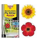 Zero In Twin Pack Decorative Window Fly Killer