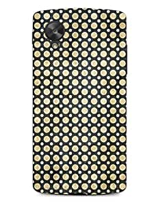 MiiCreations 3D Printed Back Cover for LG Google Nexus 5,Pattern