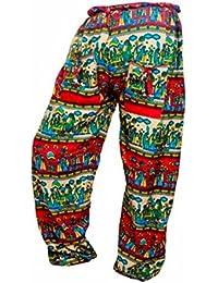 Women's Cotton Harem Pants Afghani Trousers - B06XYTCS24