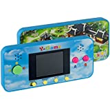 DURHERM Y-Game 106 in 1 Rechargeable Electronic Pocket Travel Handheld Game Toy Gift for Kids Children