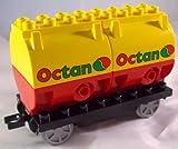 Lego Duplo Güterwagon mit Octan Aufdruck
