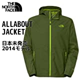 (ノースフェイス)THE NORTH FACE / マウンテンパーカー ALLABOUT JACKET オールアバウトジャケット Scallion Green / グリーン Lサイズ 【並行輸入品】