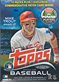 2014 Topps MLB Baseball Series #1 Unopened Blaster Box with 10 Packs of 8 Cards Plus One Exclusive Commemorative Patch Card