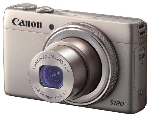 Canon デジタルカメラ PowerShot S120(シルバー) F値1.8 広角24mm 光学5倍ズーム PSS120(SL)
