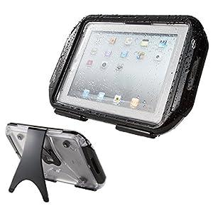 SANWA SUPPLY  iPad Air iPad4 (第4世代) 防水ハードケース スタンド機能付 PDA-IPAD213