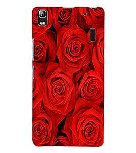 ColourCraft Beautiful Roses Design Back Case Cover for LENOVO A7000