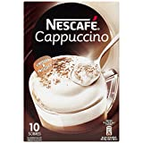 Nescafe Cappucino Packets - 14g - 10 ct