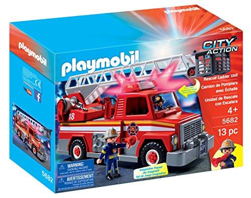 PLAYMOBIL-Rescue-Ladder-Unit-Playset