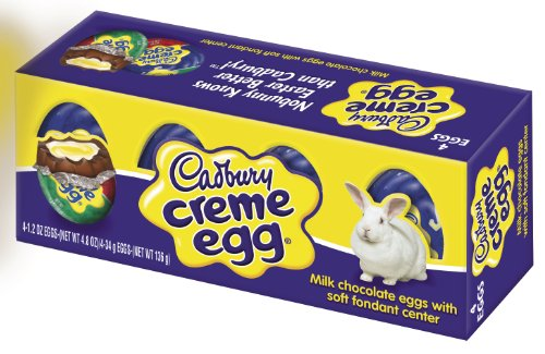 Cadbury Easter Creme Eggs 4 Count Boxes Pack of 6
