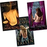 Erin McCarthy Deadly Sins Novels 3 Books Collection Pack Set RRP: �23.97 (Taking,  Fallen, My Immortal)by Erin McCarthy