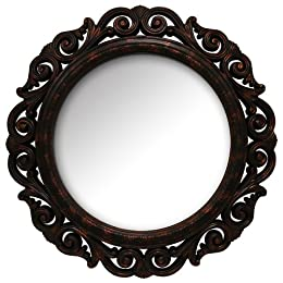 Victorian Style Mirror - Tortoise (23&#034;) : Target from target.com