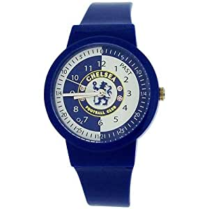 Chelsea Football Club Boys Blue Time Teacher Plastic Strap ...
