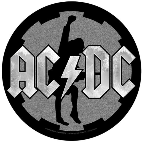 Amazon.com: XLG AC/DC Cog Logo Silhouette Angus Young