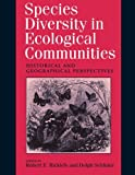 img - for Species Diversity in Ecological Communities book / textbook / text book