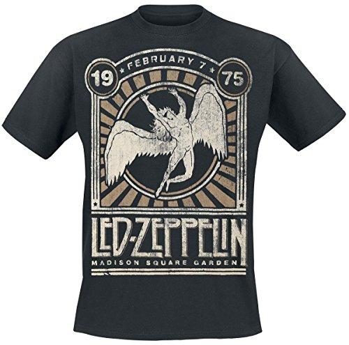 Led Zeppelin Madison Square Garden 1975 T-Shirt black