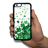 iPhone 6 Slim Protective Case - St. Patrick's Day - Clover Swirls