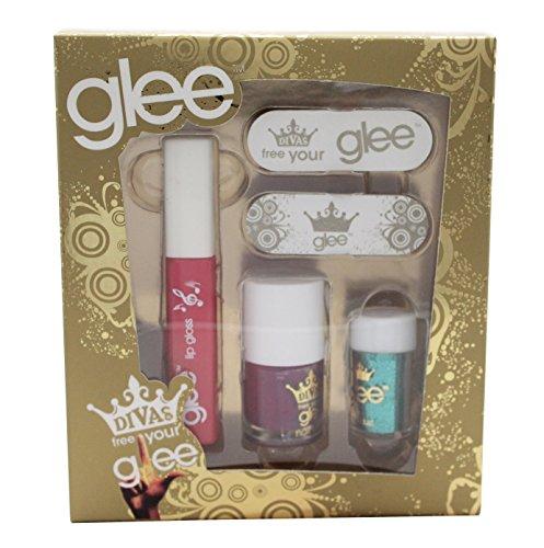 Glee Divas Free Your Glee Confezione Regalo Let's Face It - 10.2ml Lucidalabbra + 6.8ml Smalto + 2g
