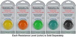Isokinetics Inc. Hand Exercise Squeeze Ball - Round - Blue - Firm