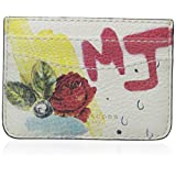 Marc Jacobs Collage Printed Leather Card Case, Off White Multi, One Size