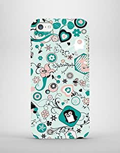 Flower Animal 3D Printed Mobile Case For Iphone4S
