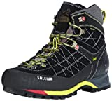 Salewa Mens MS MTN TRAINER MID GTX Trekking & Hiking Shoes Black Schwarz (Black/Smoke 901) Size: 40