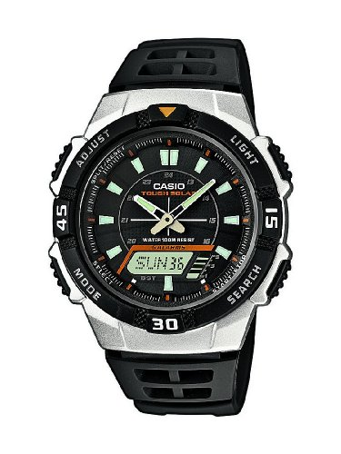 Casio Collection Men's Solar Collection Analogue-Digital Quartz Watch AQ-S800W-1EVEF