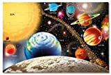 Melissa & Doug 413 Solar System Floor Puzzle, (48 Pieces, 2 x 3 feet)