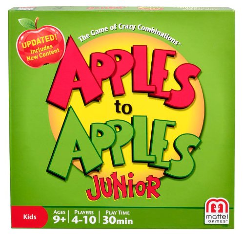 Apples to Apples Junior – The Game of Crazy Combinations!