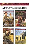 Love Inspired Historical August 2014 Bundle: The Wranglers Inconvenient Wife\The Cattleman Meets His Match\Protected by the Warrior\A Mother for His Children