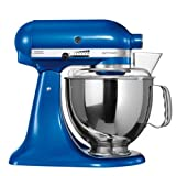 KitchenAid-5KSM150PSEEB-Robot-culinaire-Artisan--tte-inclinable-Bleu-brillant-Import-Allemagne